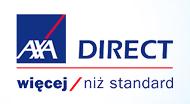logo firmy AXA dzięki której można sprawdzić cenę rynkową samochodu